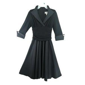 Sz 6 Jessica Howard Tuxedo Dress